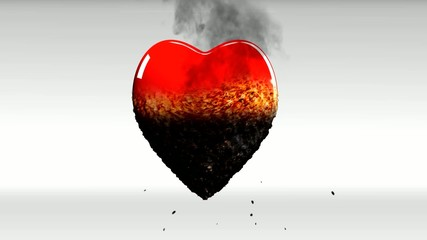 Healthy heart is dying (disintegrating)