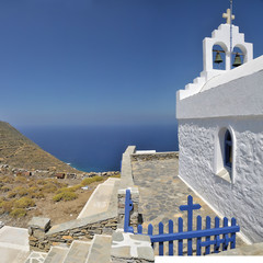 Orthodox church - Amorgos - Greece