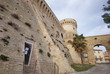 entrance of the fortress, Acquaviva Picena