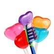 Zahnbürste und Lutscher 01