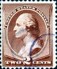 George Washington. 1732- 1799. US Postage.