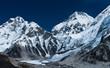 Peaks not far Gorak shep and Everest base camp
