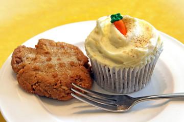cupcake und cookie