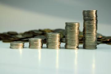 Coins columns