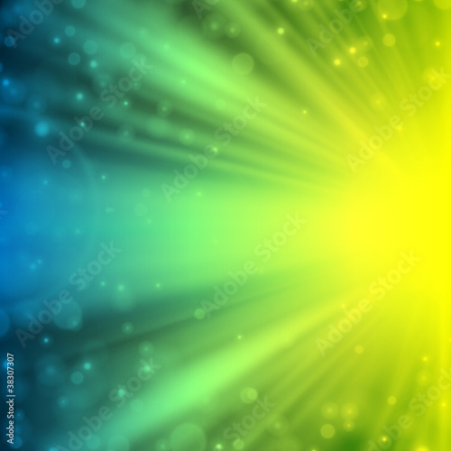 Abstract light with lens flare vector background