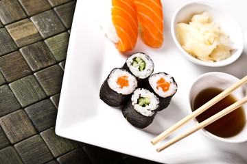 japanease sushi for lunch