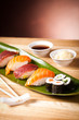 collection of japanease sushi