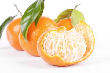 Open tangerine