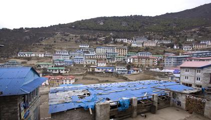 namche bazaar sagarmatha np nepal