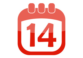 icon calendar 14