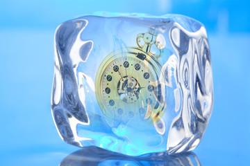 eingefrorene Zeit