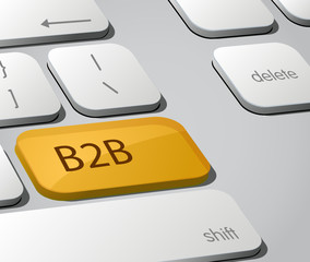 B2B Keyboard Button