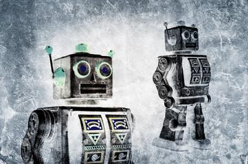grunge robots