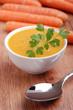 zuppa di carote e zucca - quattro