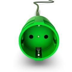 Stromkabel - grün