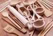 utensili da cucina in legno - uno