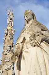 Kosice religious statues