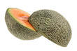 Rock Melon Cut in Half