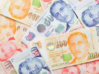 close up of a heap of money