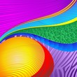 Astratto Design Colori Sfondo-Abstract Design Colors-Vector