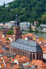 Heidelberg roofs