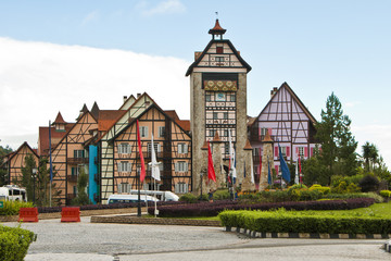 Entrance of Colmar Tropicale, Malaysia