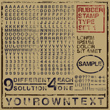 Rubber stamp typeset 01