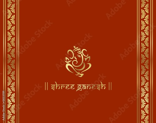 Indian Wedding Cards Design Vector Hindu Wedding Card Design