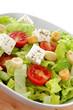 insalata mista con pomodori e feta