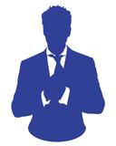 business man suit avatar
