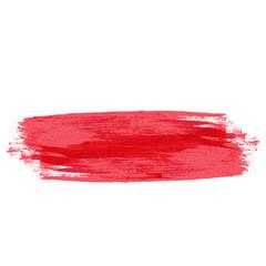 Red Grunge Stroke