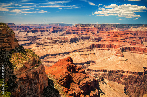 Grand Canyon sunny day with blue sky - 38335550