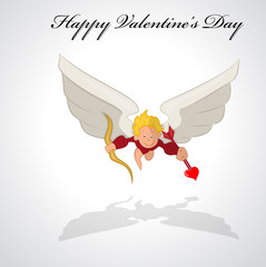 Vector Cupid Background