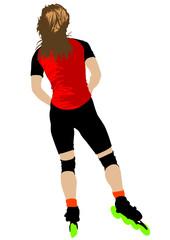 Girl skates