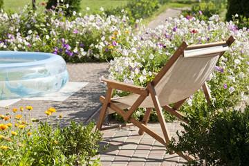 Chair in a garden