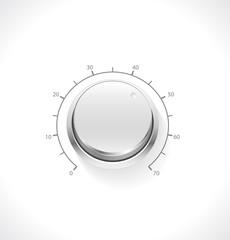 Vector realistic volume knob