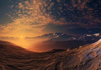 Digital Nature - Fantasy Landscape