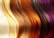 Leinwandbild Motiv Hair Colors Palette