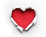 Valentine Heart Card Design