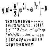 mathematics or calculus formula poster
