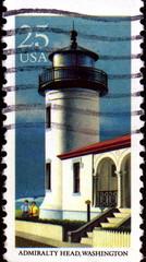 Admiralty Head, Washington. US Postage.