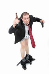 betrunken und pleite