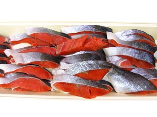 Fresh fish meat