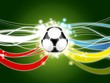 Euro 2012 background green