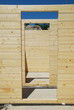 Doorways in Partially Constructed Wood House