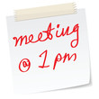 meeting message