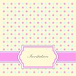 Dotty Invitation Pattern