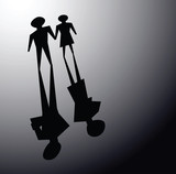 broken relationsip, divorce concepts