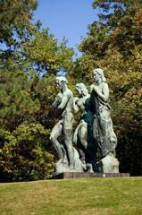 Beethoven-Denkmal - Taunusanlage - Frankfurt am Main