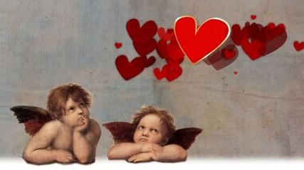 Valentinstag & Engelchen von Rafael Santi